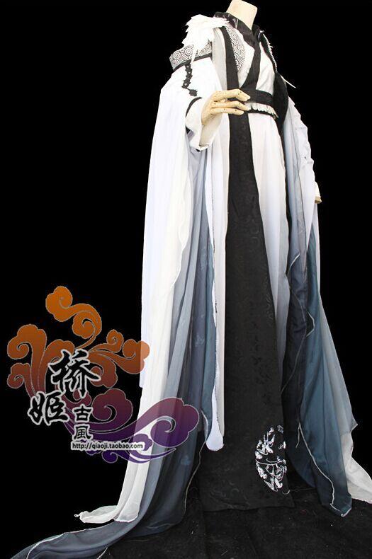 《花千骨》白色男式cos服
