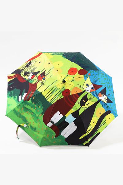 创意雨伞 猫来了喵星人   防晒挡雨三折晴雨伞 包邮