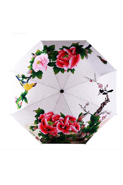 包邮  创意雨伞 早春 防晒挡雨三折晴雨伞